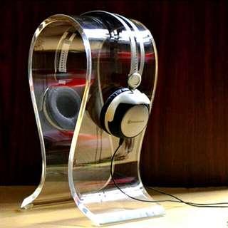 Omega Headphone Stand - Transparent