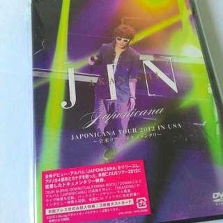 Jin Akanishi 「JAPONICANA Tour 2012 in USA」(DVD)