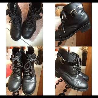 👉防水皮靴👈