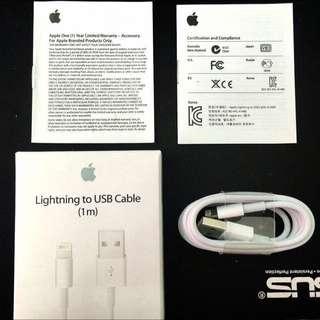 Apple iPhone 原裝高品質Lightning充電線