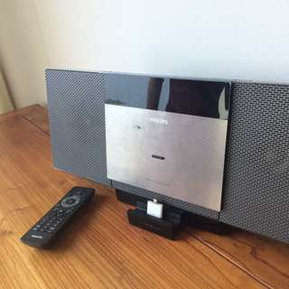 Philips Cd / Iphone Speaker