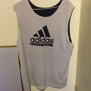 adidas 黑/白 正反皆可穿球衣(正版✨)