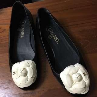 CHANEL✨經典山茶花鞋