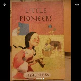 Black And White by David Mccaulay, Little Pioneers By Bessie Chua and Hana's Suitcase by Karen Levine.