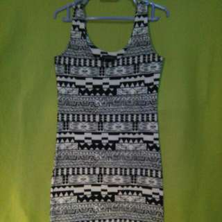 $4 SALE✔ ...or Grab 3 Items For Only $10!!!👍👍👍 MONTIFS Sexy Sleeveless Dress With Aztec Prints