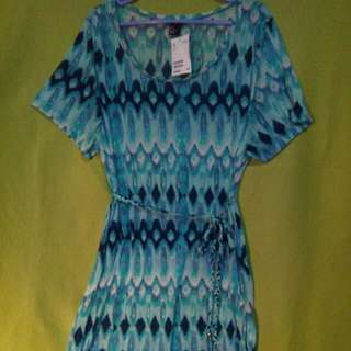 [PENDING] $4 SALE✔ ...or Grab 3 Items For Only $10!!!👍👍👍 H&M Tunic With Matching Braided Belt