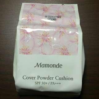 (保留) Mamonde夢妝 Cover Powder Cushion 氣墊粉餅補充包(粉蕊) 朴信惠代言 色號21