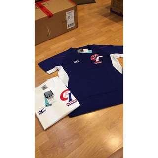 MIZUNO CT 短袖T恤 寶藍、白 兩色