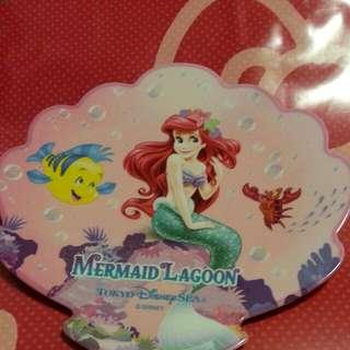 迪士尼 美人魚 精緻餐盤