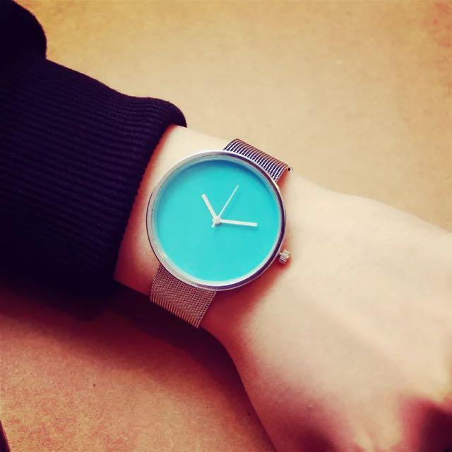 5 Color Super Less 工業風 手錶