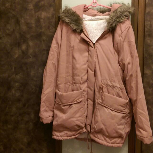 🆕女裝保暖長版外套