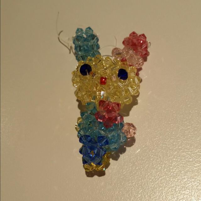 三麗鷗兔子水晶飾品
