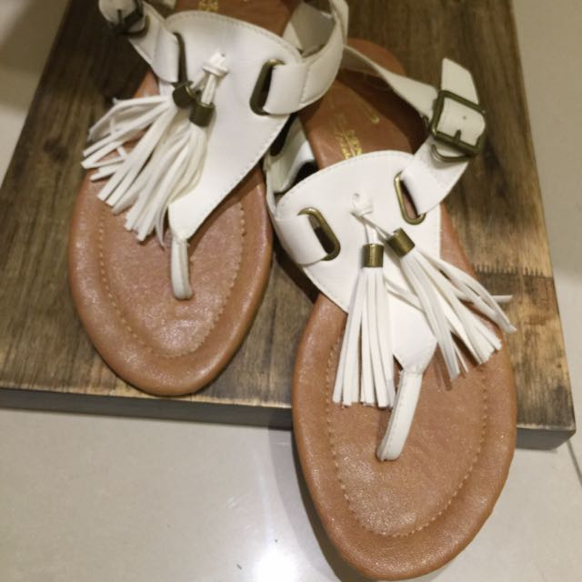 韓店購入流蘇涼鞋