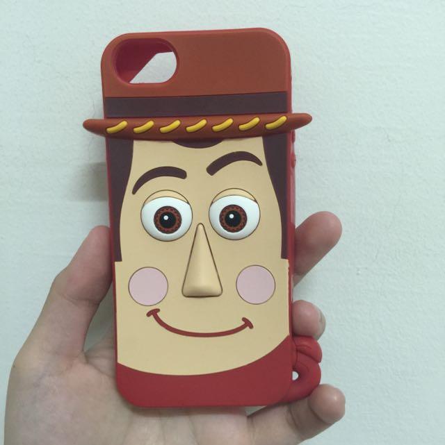 降價 正版 迪士尼 胡迪 iphone5 5s i5 i5s 手機殼