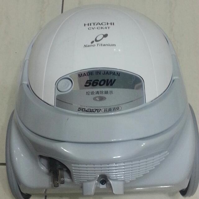 「大降價」日立吸塵器 CV-CK4T(八成五新)不含集塵袋~含運