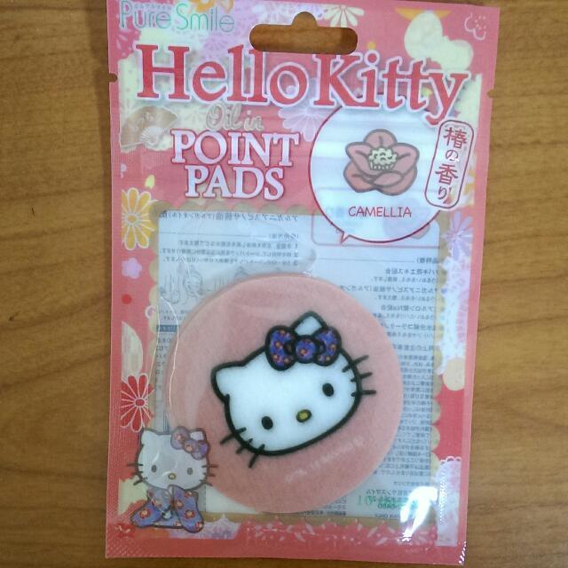 日本帶回 Hello Kitty 小面膜 局部面膜 (茶花香)