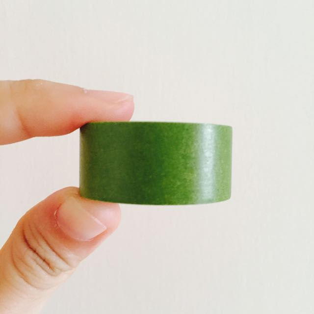 日本 MARK'S maste 橄欖綠 紙膠帶