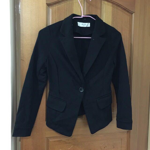西裝外套 S.M可以穿