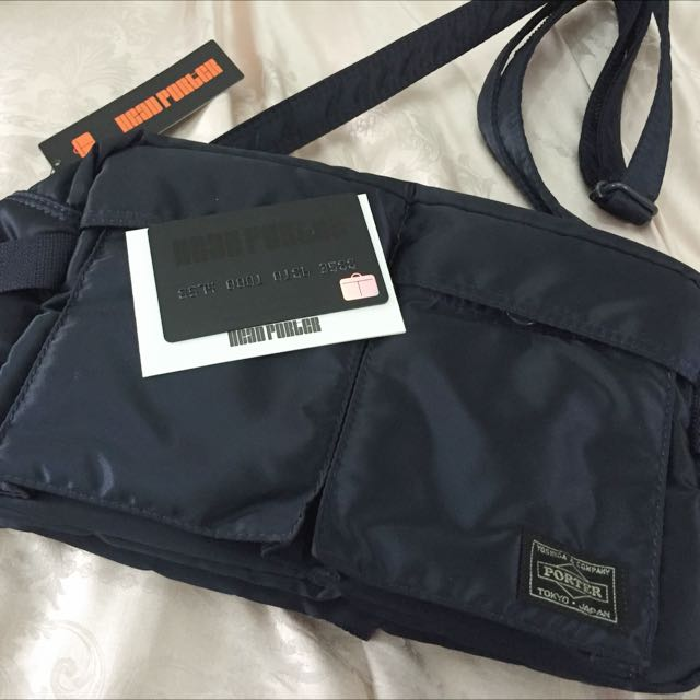Authentic Head Porter Tanker-Standard Two Way Waist Bag, Everything Else on  Carousell 7e2e7dd0f1
