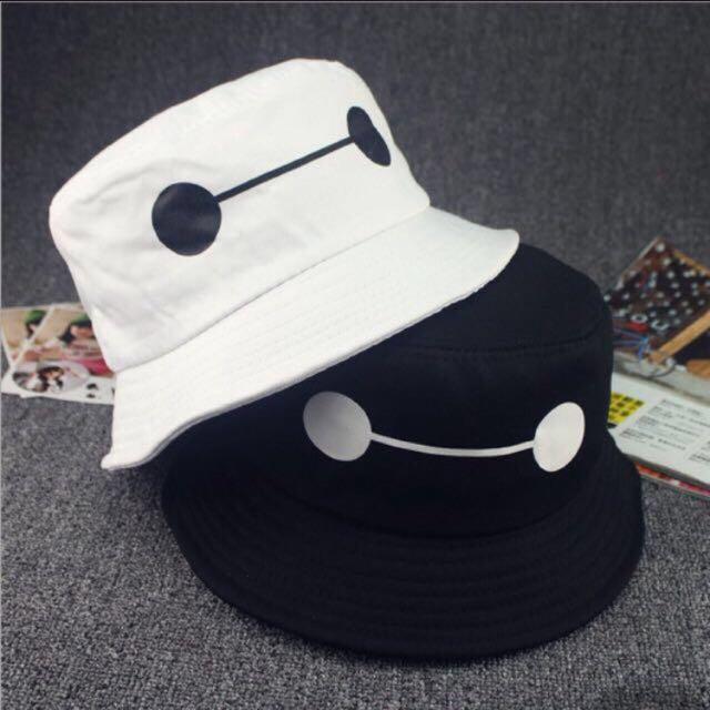 1cc572dd9c0 Chanyeol Baymax Bucket Hat