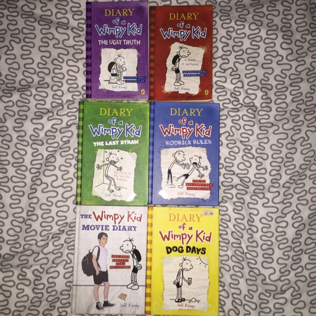 Diary of a wimpy kid - Whole Set