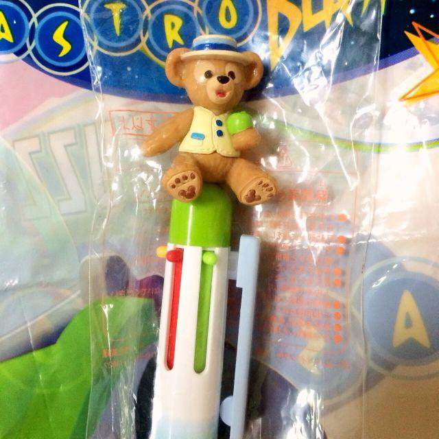 日本東京迪士尼海洋Duffy春季限定造型六色原子筆