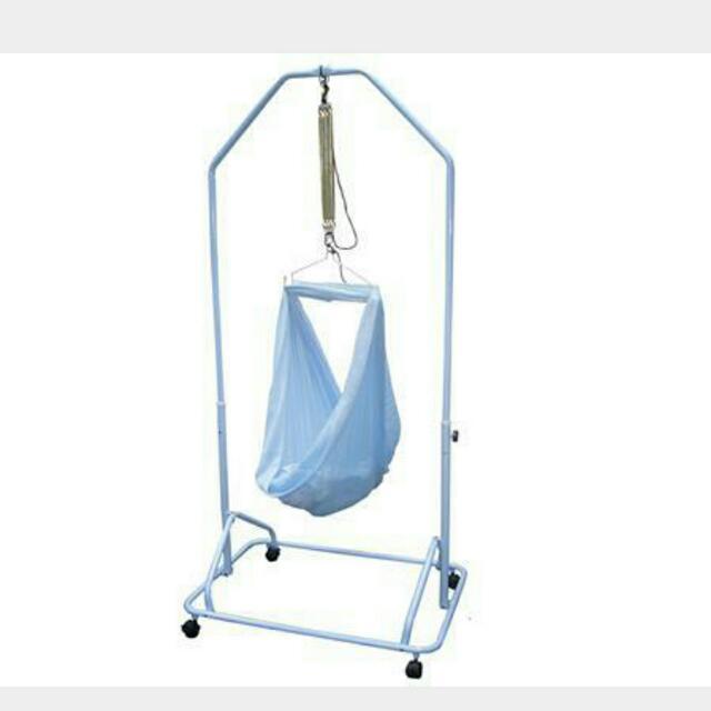 photo photo     electronic baby cradle motor yaolan hammock spring cot  swing yao      rh   sg carousell