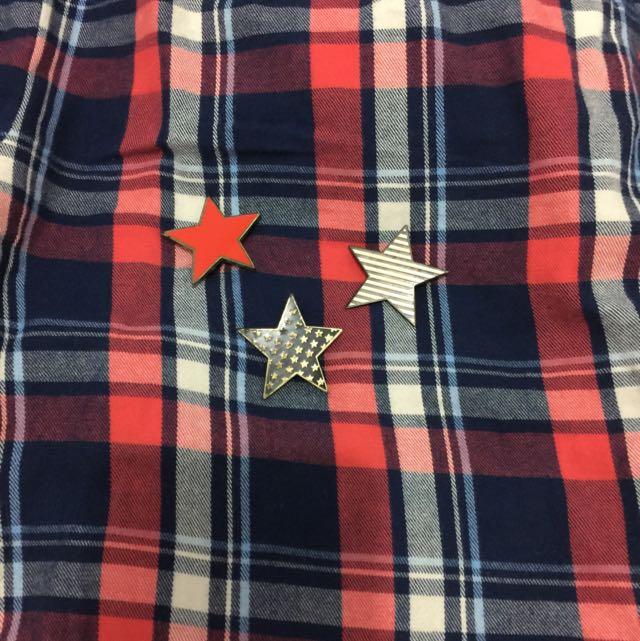 Galoop 別針(微生鏽)附品牌束口袋