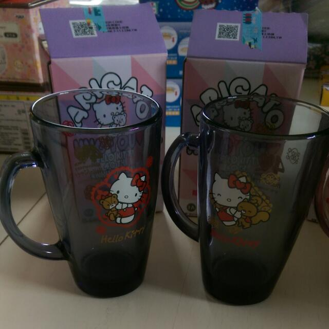 7-11hello Kitty  限量版  玻璃馬克杯