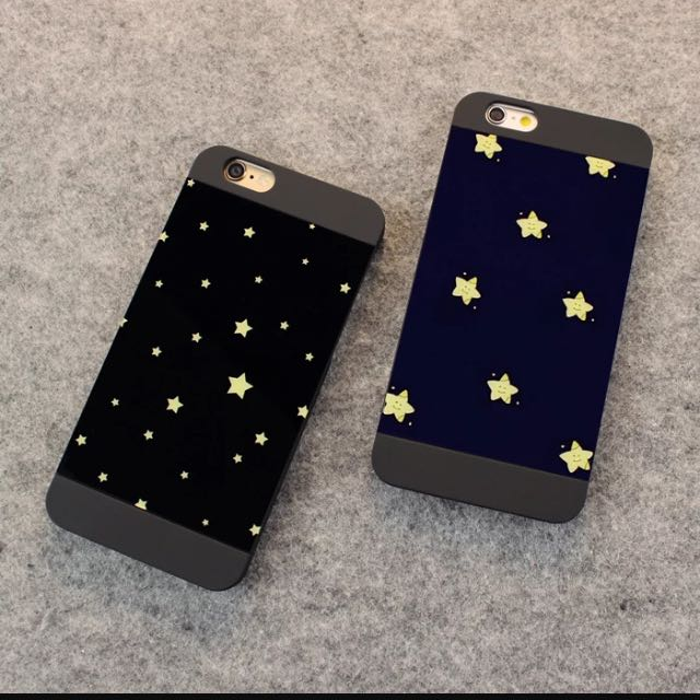 Iphone5/5s簡約星星手機殼
