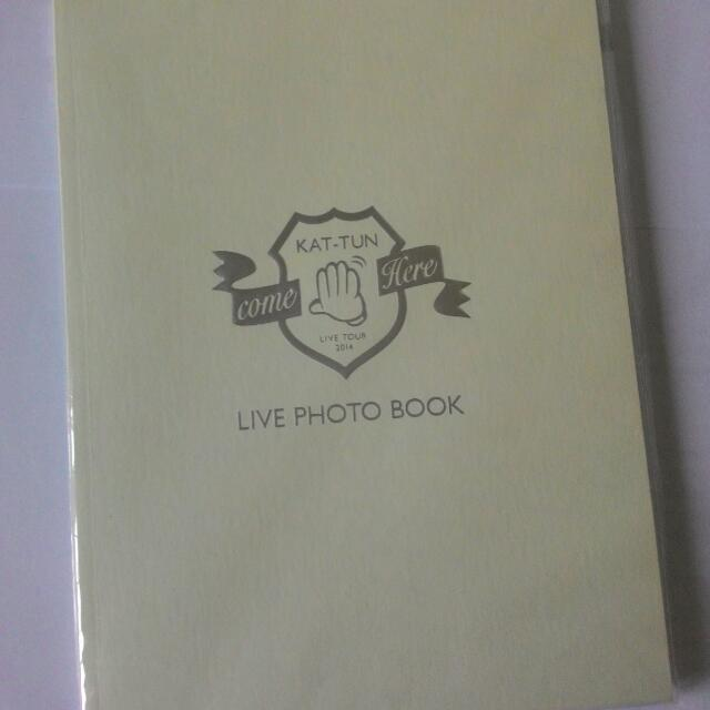KAT-TUN 「LIVE Photo Book」(from come Here concert)