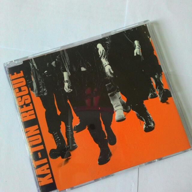 KAT-TUN 「RESCUE」RE (CD Only)