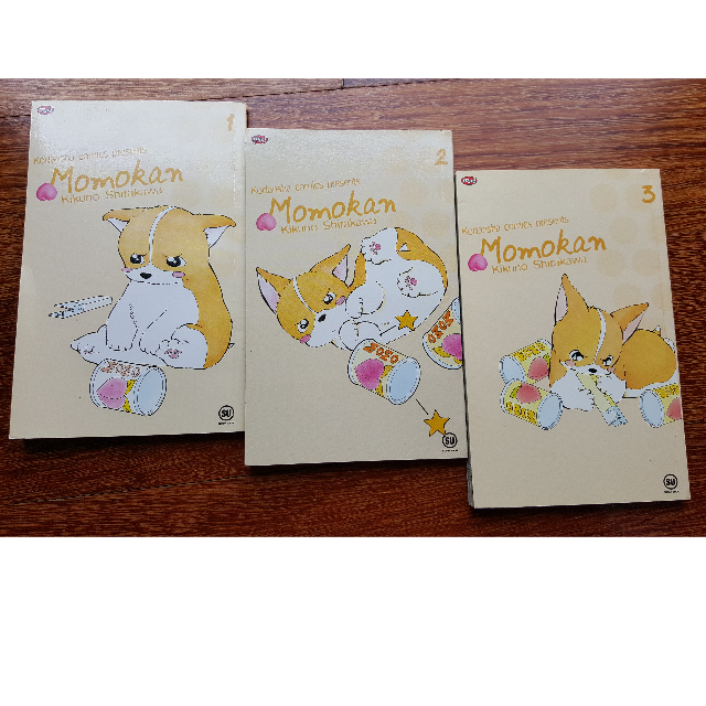 Komik Momokan 1-3 - Kikuno Shirakawa