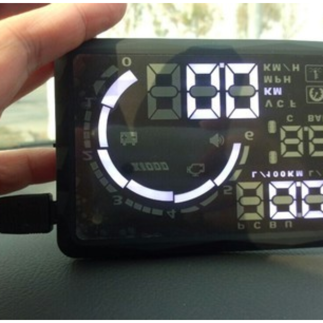 Large Screen Auto Car HUD Head Up Display Car Accessories On Carousell - Auto display