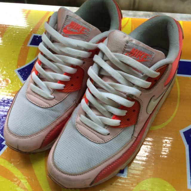 Nike Air Max 橘粉色