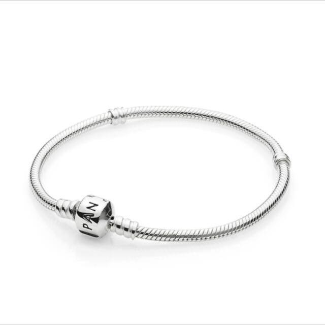PANDORA 蛇鍊/軟鍊 925純銀手鍊