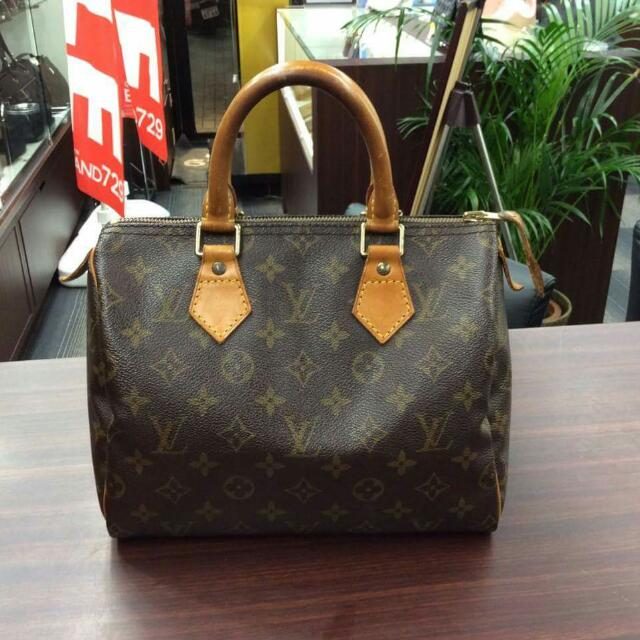 518b65a6debf Preloved Authentic Louis Vuitton Speedy 25 LV bag
