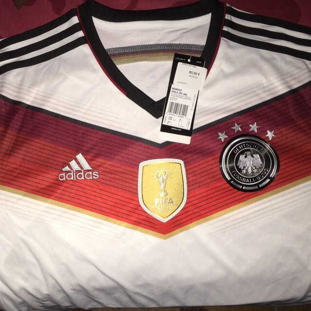 Authentic Germany Jersey L Size bought In Europe .. Negotiable