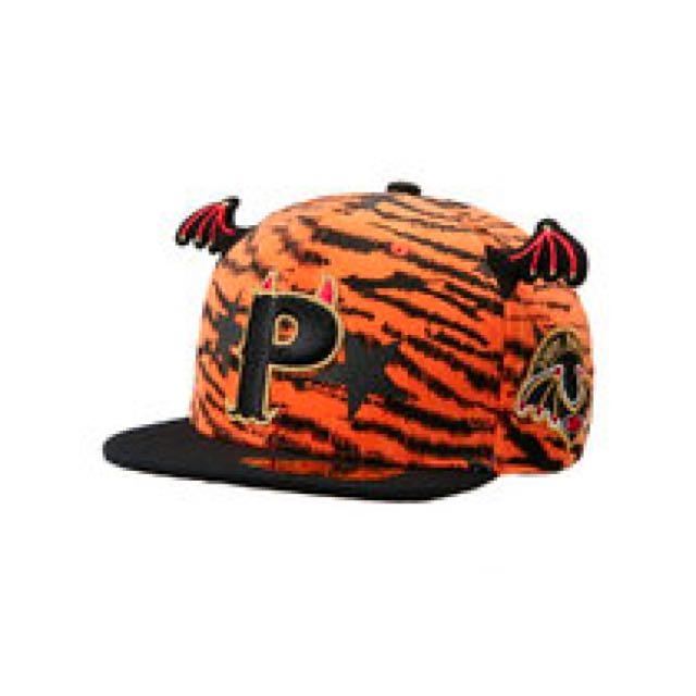 Smb Hats On 豹紋惡魔翅膀 棒球帽