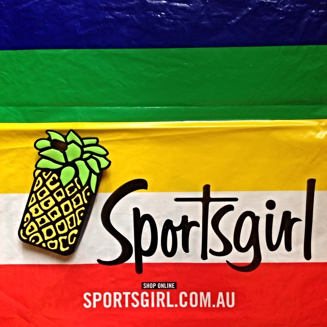 [Sportsgirl 澳洲品牌] iPhone 5 case - Pineapple 鳳梨手機套/軟殼