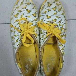 Keds 黃色小鳥 休閒鞋 平底鞋