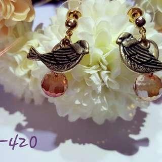 Love Bird Dangling Earring