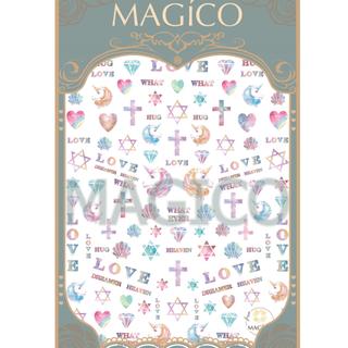 MAGICO極薄美甲貼紙-#17(10張免運費)