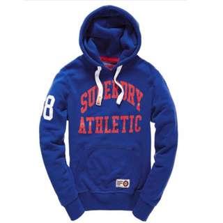 🚚 【現貨S】Superdry極度乾燥XL Angle Athletic連帽外套