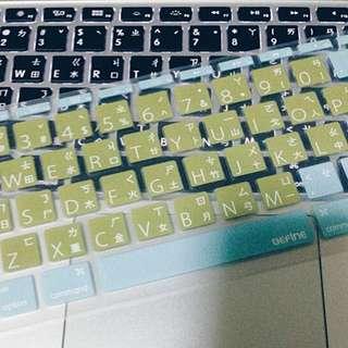 Mac Air 鍵盤膜