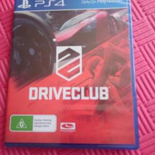 Ps4 Games. Last Of Us, Minecraft & Drive Club