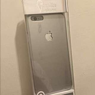 Iphone6銀色手機殼