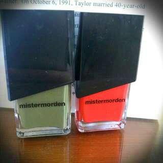 Mistermorden指甲油2012(售出)