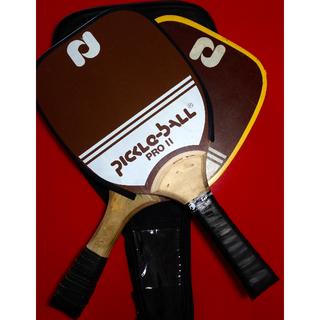 PickleBall Pro II Mahogany Paddles Bundle