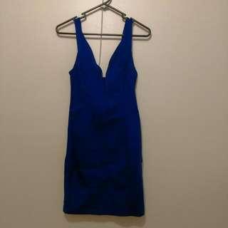 PureHype Plunge Dress